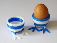 Impression 3D - Coquetier bicolore