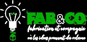 logo FAB&CO blanc