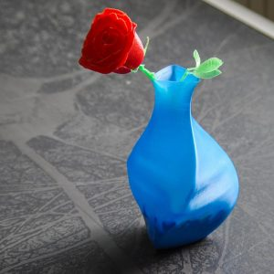 Impression 3D - rose saint valentin
