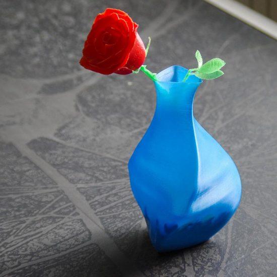 Impression 3D - rose saint valentin