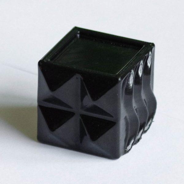 Impression 3D - Cube ABS noir acétone