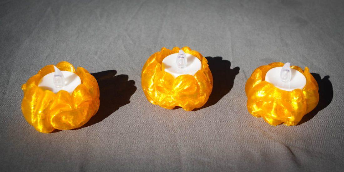 Impression 3D - citrouilles