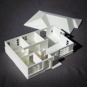 Impression 3D - maquette archi 1