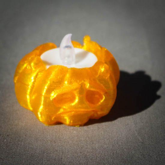 Impression 3D - citrouille triste
