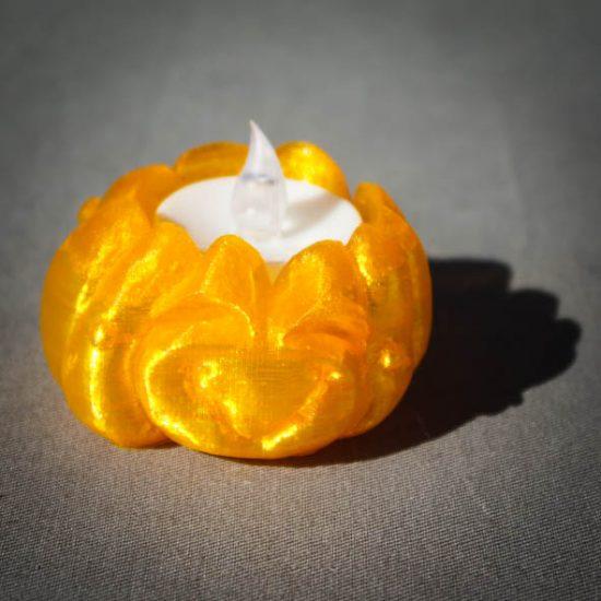 Impression 3D - citrouille joyeuse