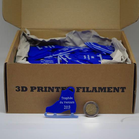 Impression 3D - trophée du Vercors