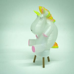 Impression 3D - photophore licorne