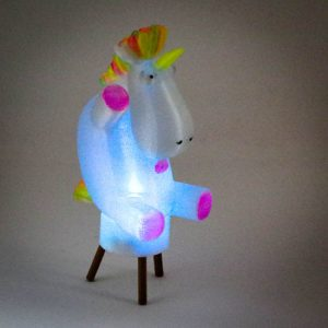 Impression 3D - photophore licorne 2
